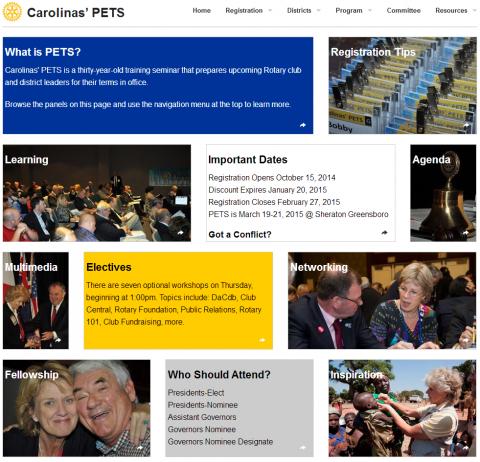Carolinas PETS Home Page